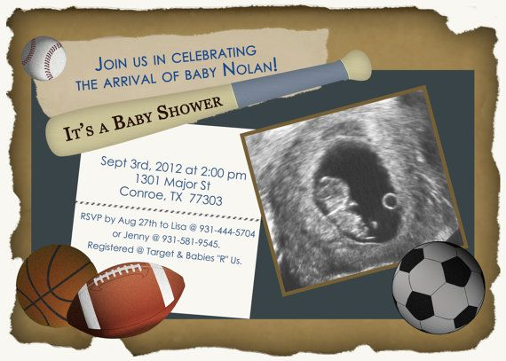 sports theme baby shower invitation by designsbyoccasion on etsy 18