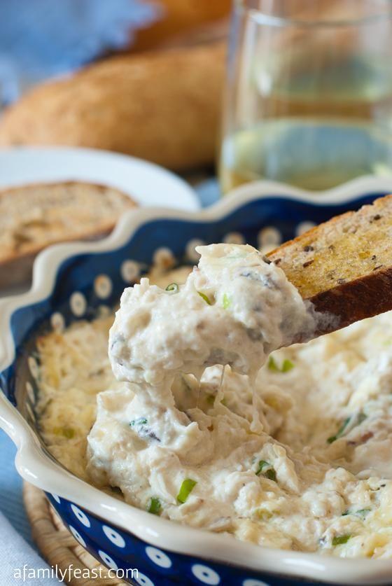Hot Crab Dip with Crostini | Recipe