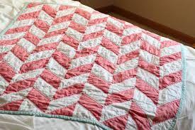 Tutorial: Herringbone Quilt - Sewing School - your online