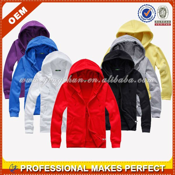 Modern Zipper Pure Color Reinestone Pockets Cony Hair Hoodies For
