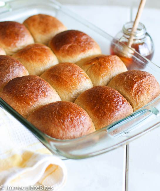 Honey Wheat Rolls | Food | Pinterest