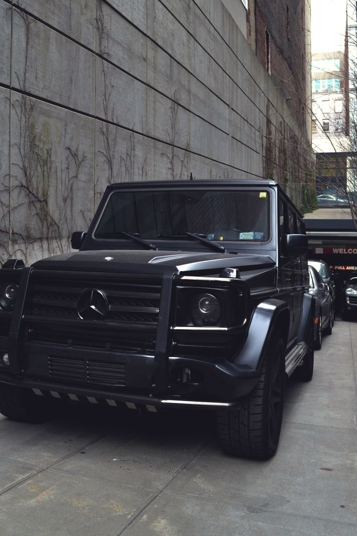 Mercedes benz g63 amg matte black fast n furious pinterest for Mercedes benz g wagon g63