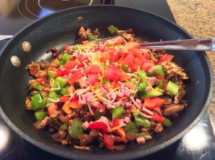 Denver Omelet Scramble   Breakfast L.O.V.E.   Pinterest