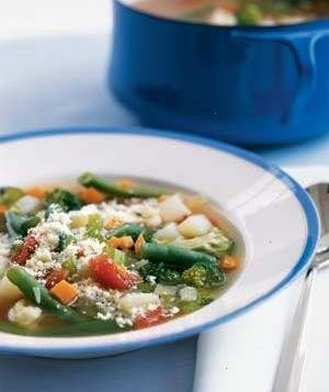 Quick And Easy Veggie Soup