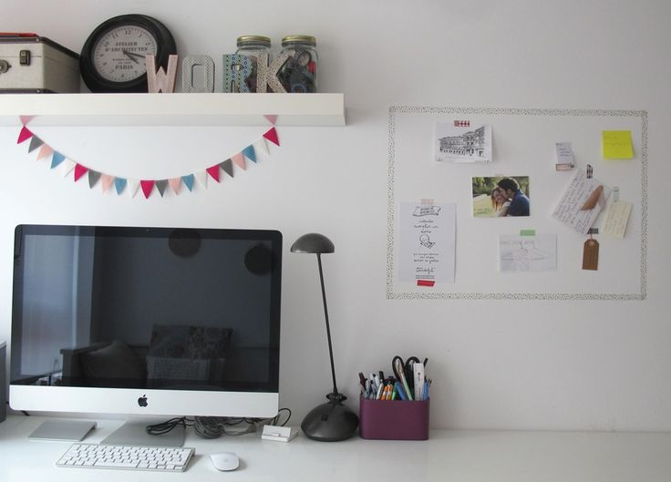Washi Tape Decoracion Paredes ~ Washi tape Wall decor  Office  Pinterest