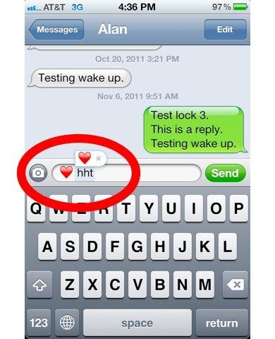 Emoji text shortcut easy