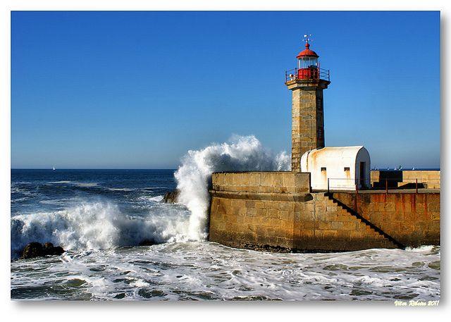 Felgueiras Portugal  city images : Farolim de Felgueiras Porto / Portugal | Lighthouses | Pinterest