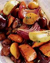 Roasted Root Vegetables | yummy | Pinterest