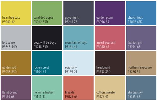 28 Miller Paint Colors Chart