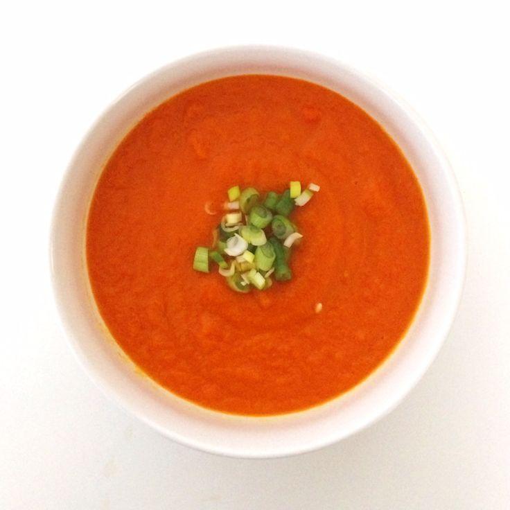 detox carrot ginger soup | souper. | Pinterest