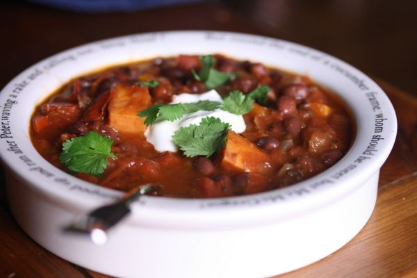 Smoked Chipotle Vegetarian Chili | Recipes To Try | Pinterest
