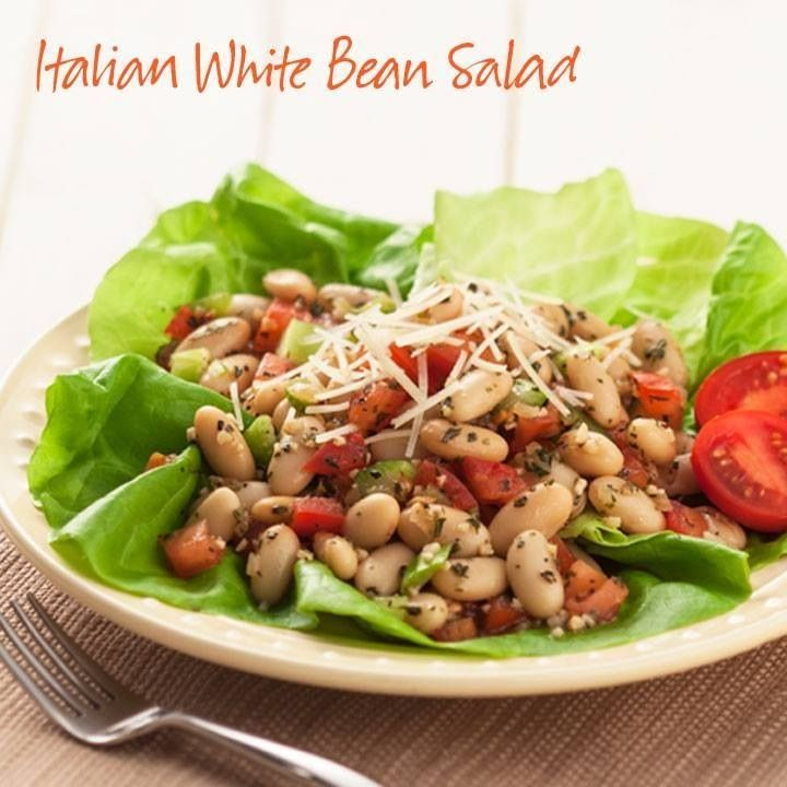 Italian White Bean Salad Ingredients 2 Tbsp. Dried Tomato & Garlic ...