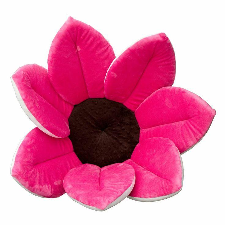 blooming bath baby newborn infant sink tub soft cradle flower petal w. Black Bedroom Furniture Sets. Home Design Ideas