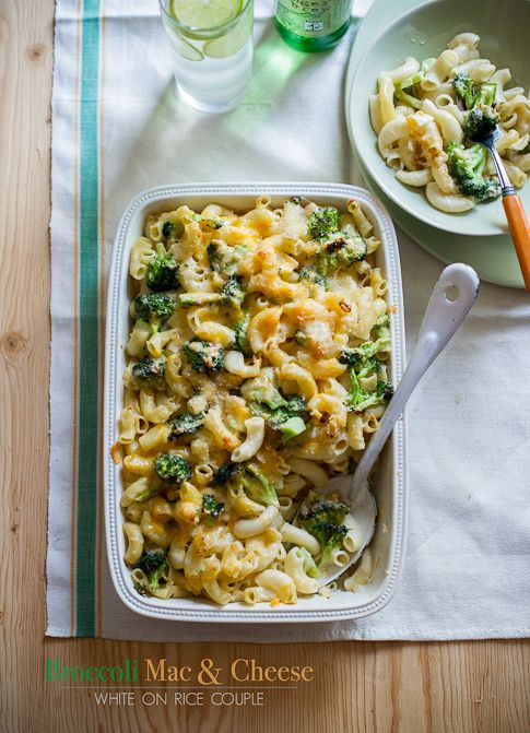 broccoli mac and cheese recipe-1 | Get Fit! | Pinterest