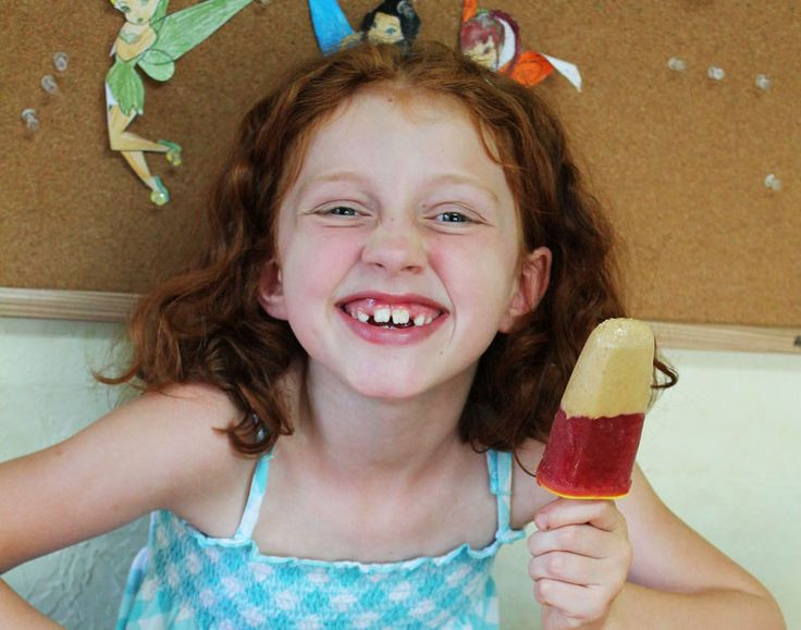 PB & J Freezer Pops | Vegan Icecream | Pinterest