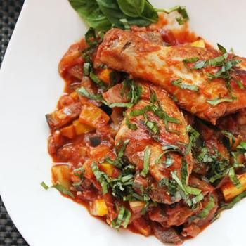 Easy Ratatouille with Chicken | FOOD | Pinterest