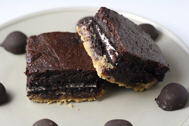 Peppermint Slutty Brownies by esimpraim, via Flickr