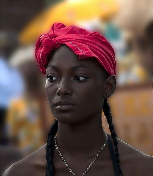 nude dark skinned black women
