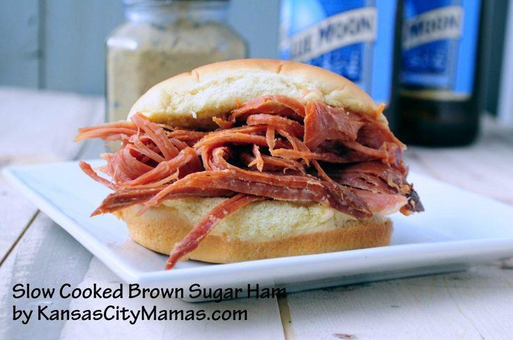 Easy Slow Cooker Ham Recipe — Dishmaps