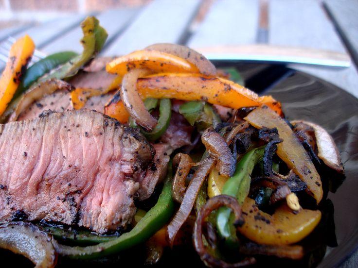 Coffee Marinated Steak Fajitas | PaleOMG - Paleo Recipe #paleo #COFFEE