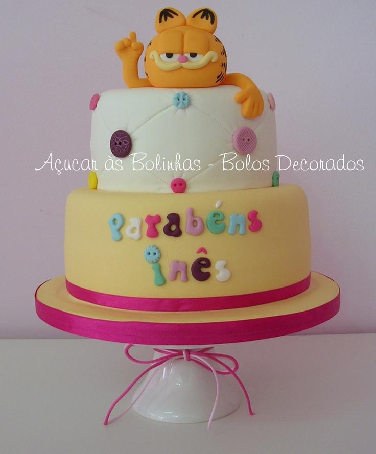 Garfield | Garfield Cakes | Pinterest