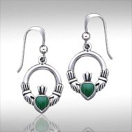 Earrings we142 the claddagh is a traditional irish symbol of love