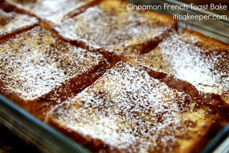 Cinnamon French Toast Bake.   Breakfast   Pinterest