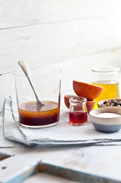 Blood orange vinaigrette 1/4 cup freshly squeezed blood orange juice 1 ...