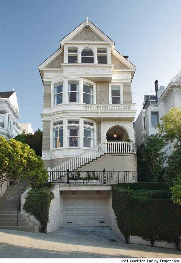 19th century house sf exterior pinterest