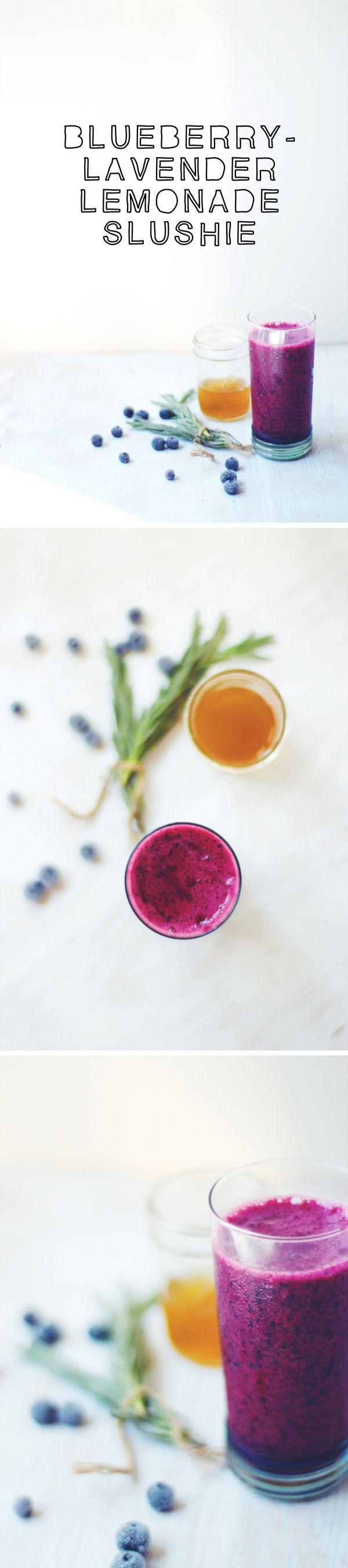 blueberry lavender lemonade slushie | Cheers! I'll Drink To That | Pi ...