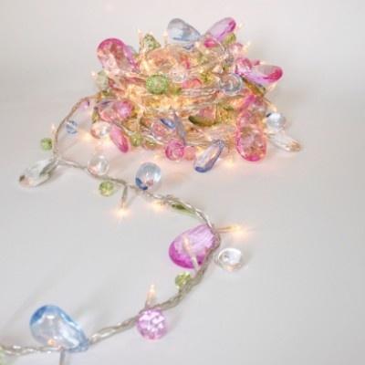 Bohemia pastel garland fairy lights awesome diy pinterest