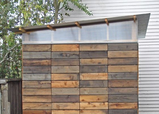 Modern wood storage sheds style for Contemporary shed designs