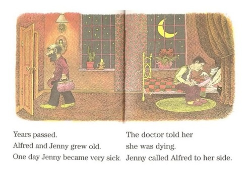"Alvin Schwartz story ""The Green Ribbon."""