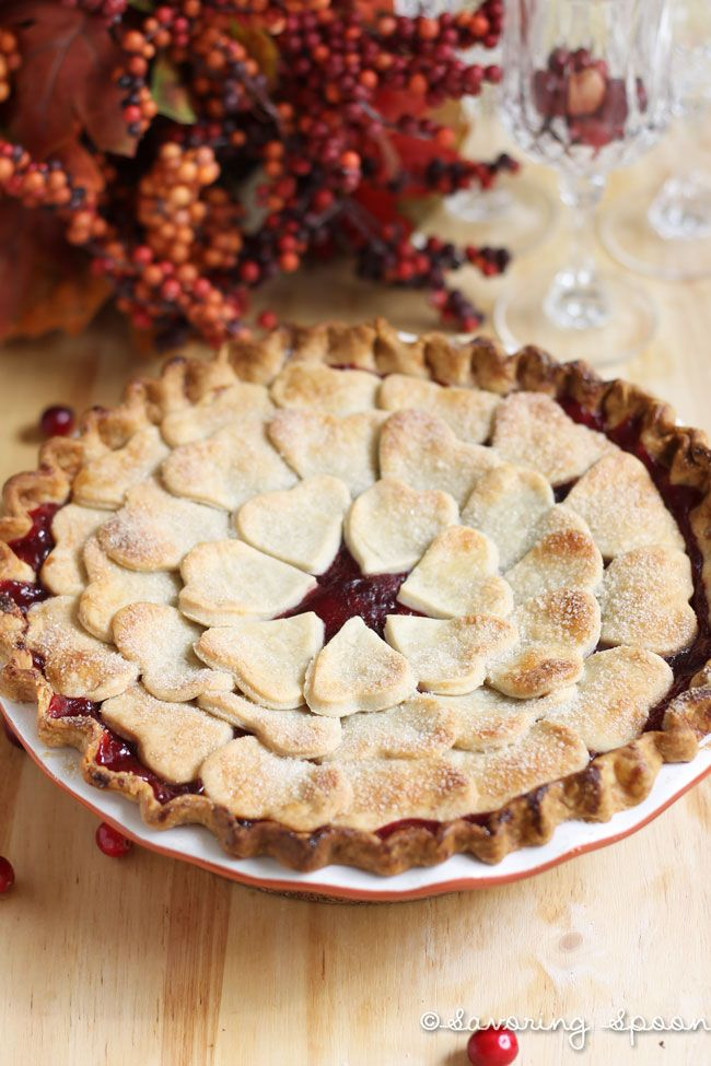 Cranberry Pear Pie | Pies and Tarts | Pinterest
