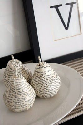 DIY: Anthropologie Inspired Pears @Brittany Pike