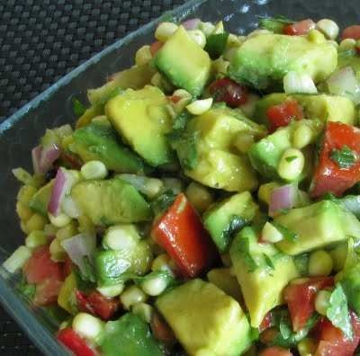 AVOCADO AND SWEET CORN SALSA. FRESH! | Delicious... | Pinterest