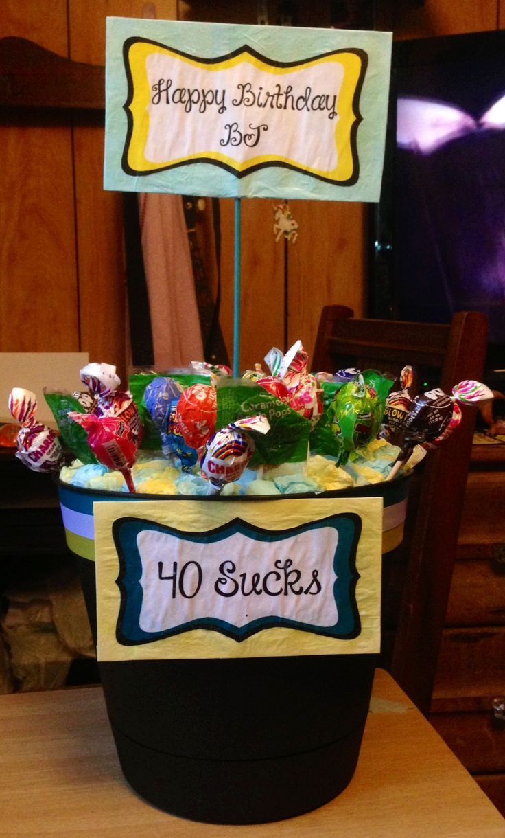 40th birthday idea