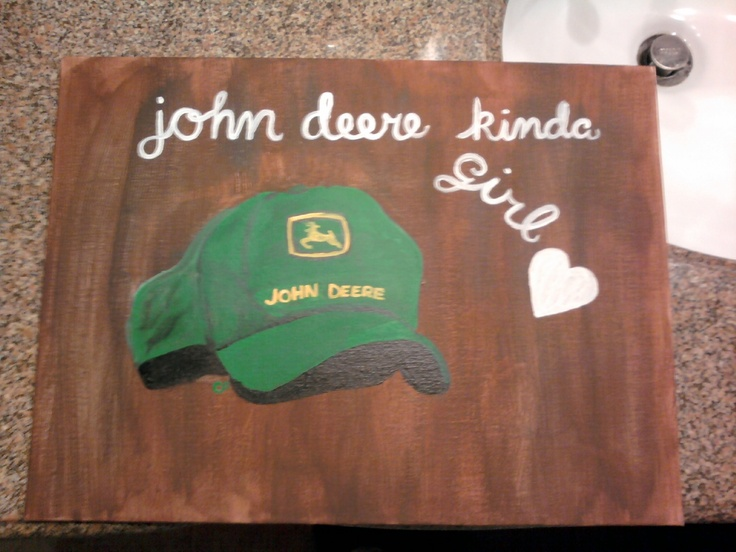 John deere | Crafts & Gifts | Pinterest