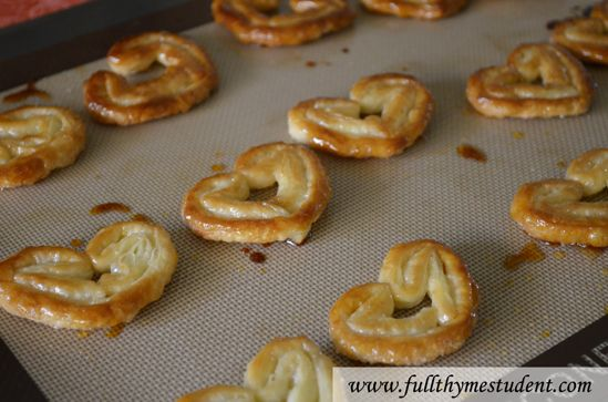 Palmiers, aka Elephant Ear Cookies | Cakes, Cupcakes, and Cookies | P ...
