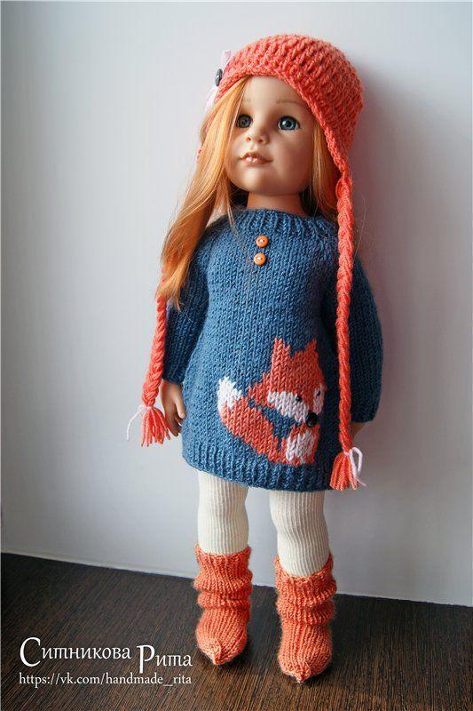 Одежда для кукол  с фото