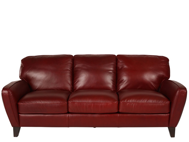 Natuzzi red leather sofa 1372 for the home pinterest for Natuzzi red leather sectional sofa