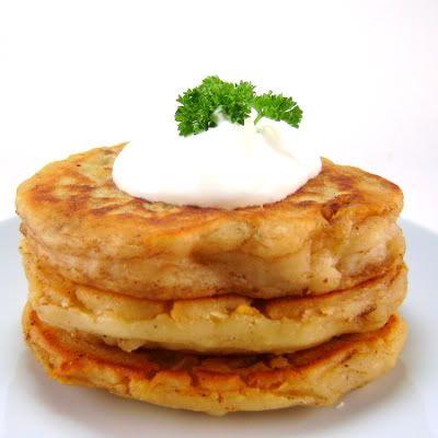 Boxty - Traditional Irish Potato Mashed Pancakes Recipe