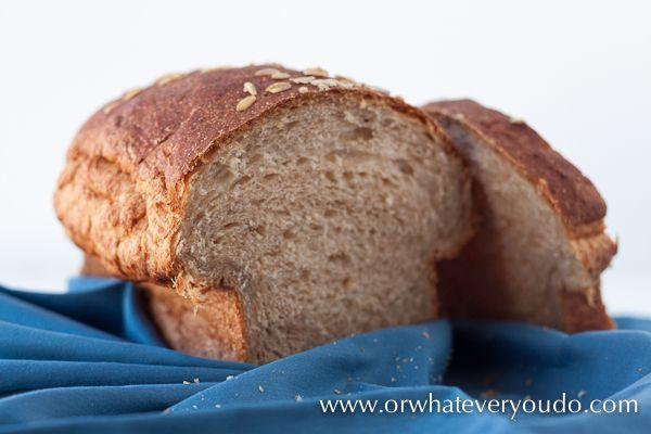 Buttermilk Oatmeal Bread | Recipe