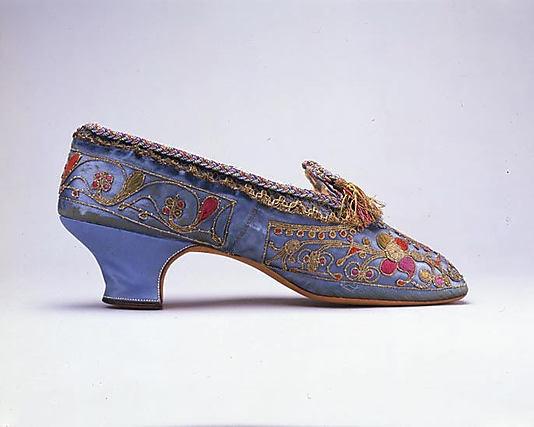 Shoes, France, 1873