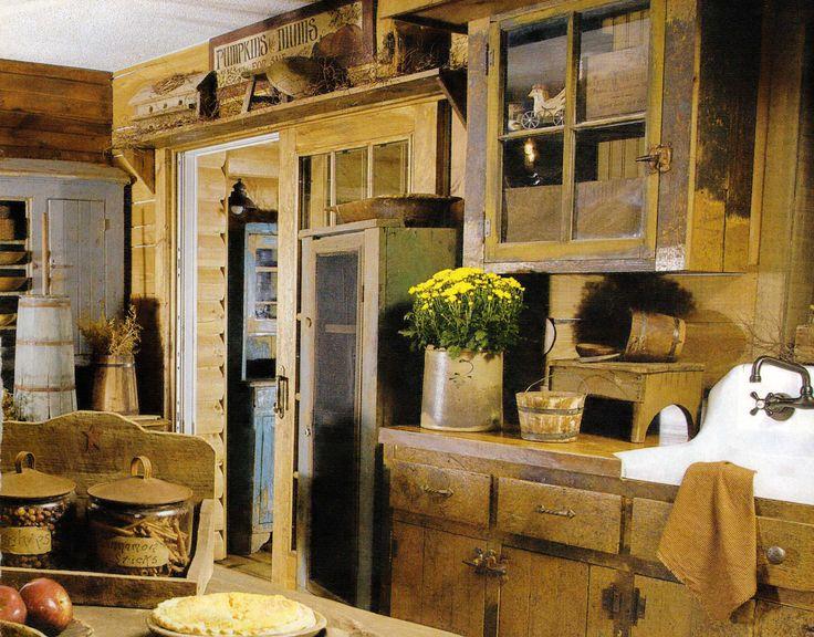 Rustic cabin kitchen ideas for jen 39 s lake house for Rustic cabin kitchen ideas