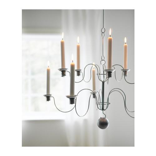 ikea sirlig candle chandelier party pinterest. Black Bedroom Furniture Sets. Home Design Ideas