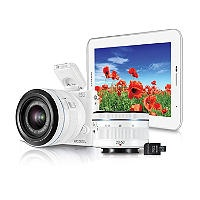 Samsung NX1100 Compact Camera and Samsung Galaxy Tab 2 7.0 Tablet bundle with 20-50mm Lens and Camera Strap - Sams Club