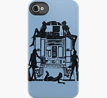 Oh R2! iPhone Case by Martin Millar