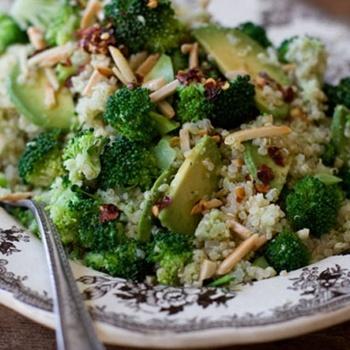 Double Broccoli Quinoa Recipe - ZipList | Recipes: Grain-Free | Pinte ...