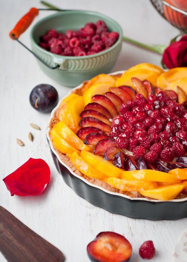... Johnsonia: Gluten-Free Peach, Plum, Raspberry and Cardamom Cream